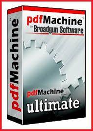 Broadgun pdfMachine Ultimate Crack 15.46 & Serial Keygen Download